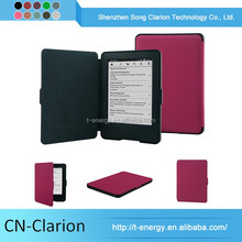 Leather Case China Waterproof Smart Case Wallet Case For kindle 7th gen