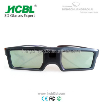 Universal active shutter 3d glasses for 3d tv without glasses