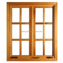 Good Quality New Design Solid Wood Casement Window
