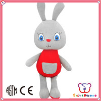 GSV certification lovely stuffed plush toy happy kid toy