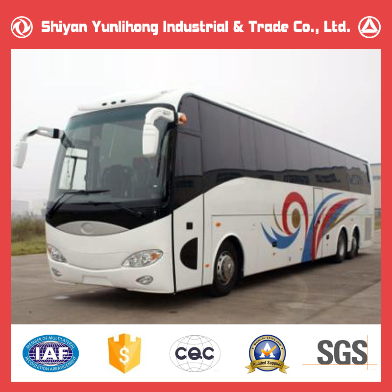 High Grade 60 Seater Luxury Coach Bus Price/14M 60 Seat Tourist Passenger Bus With Toilet