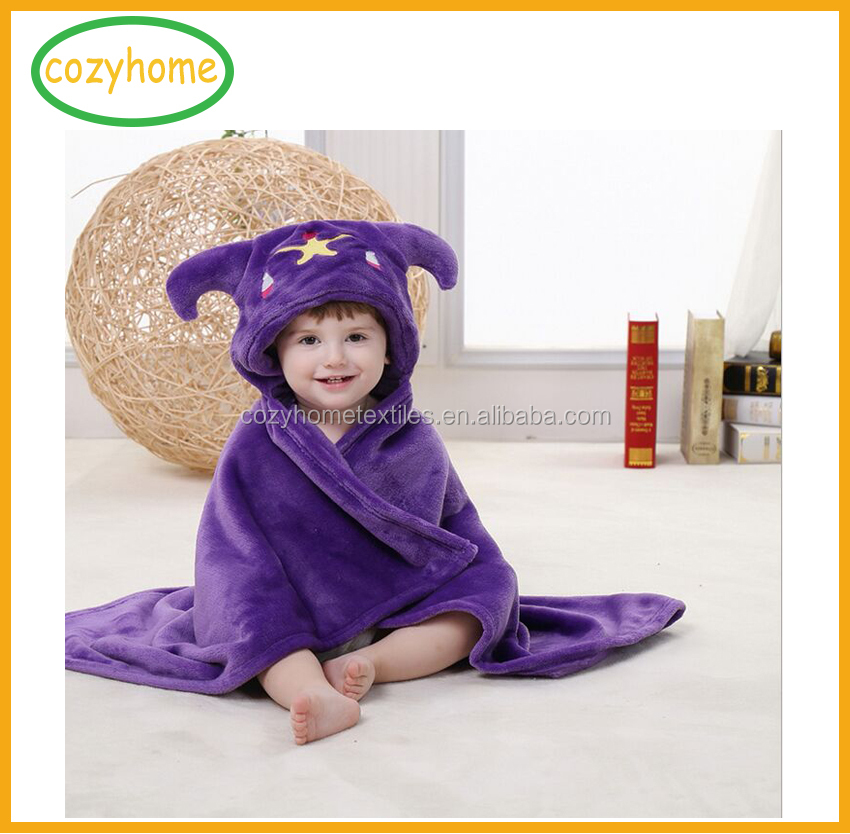 Amazon Hot sale baby hooded blanket Kids Cozy Hooded Blanket Cuddling Up With Throw or Pretend as Animal
