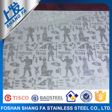 Widely Used Luster Rigidity Stainless Steel Sheet