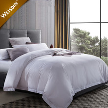 China supplies wholesale hotel queen size bedding linen natural 100% cotton fabric bedding sets