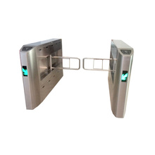 Automatic intelligent pedestrian security electronic swing gate barrier for door access control sytem
