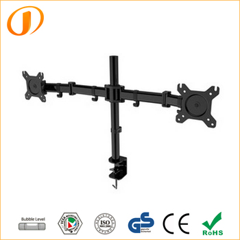 "D29 13""-27"" Dual Arms LCD Desktop Monitor Mount"