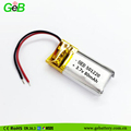 Rechargeable small lipo battery 501220 3.7v 80mah polymer li-ion battery batteries for electronic clinical thermometer