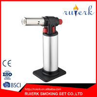 EK-709 the gas flame jet torch lighter convenient tools for kitchen picnic barbeque micro gas torch lighters