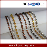 Metal Decorative Brass Ball Chain Curtain