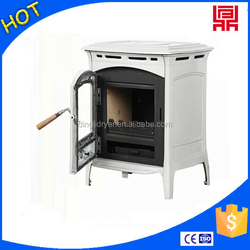 indoor small freestanding biomass pellet burning stove with oven