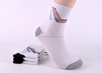 wholesale retail tight high sports organic bulk 100% cotton socks