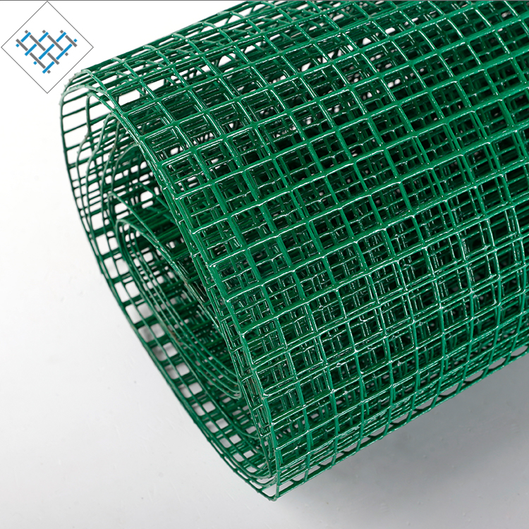 PVC coated 6mm welded stainless steel square wire mesh price