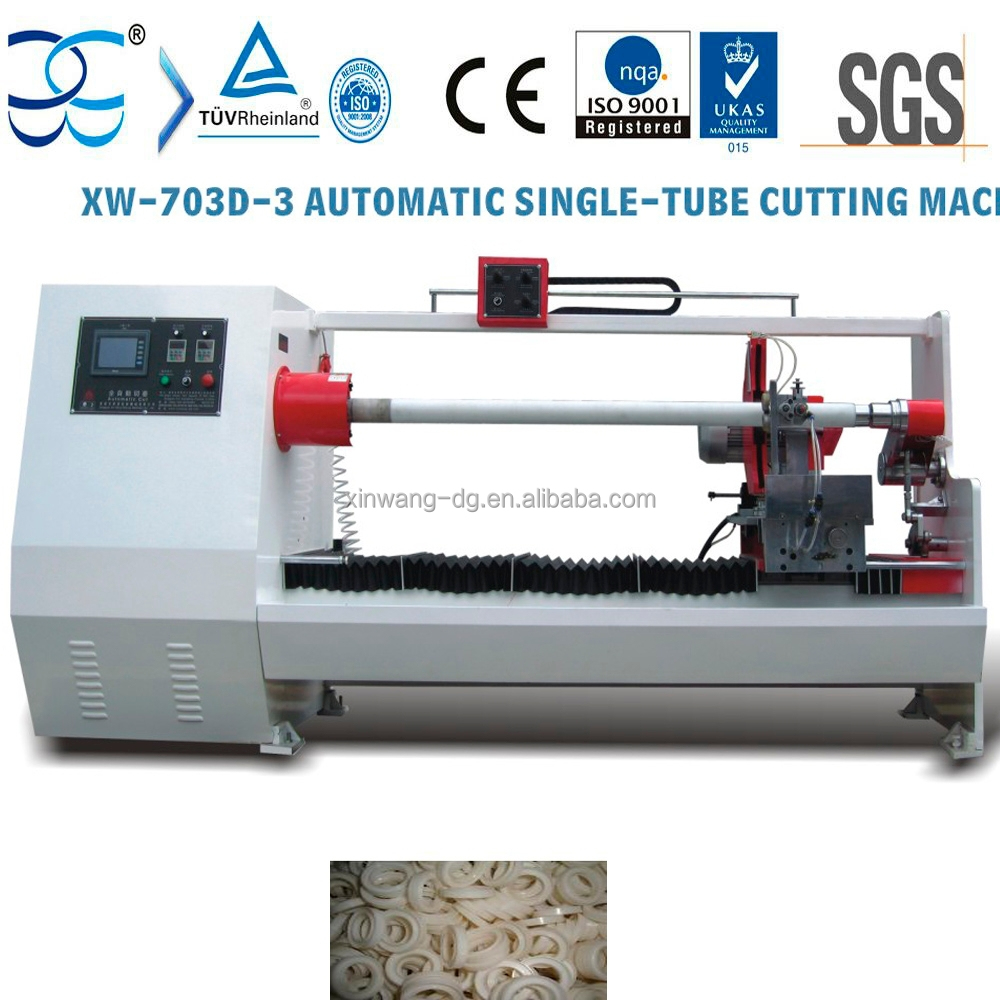 Automatic Pipe Cutting Machine ~ Automatic pipe cutting machine for paper and plastic