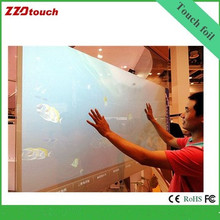 "2017 best price lowest delivery fee 40"" inch 10 point Interactive touch foil, touch film, Multi touch foil"