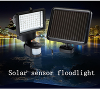 solar powered security light led solar lighting for garden