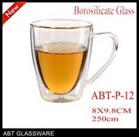 Handmade glassware manufacturer turkish tea glass Made In China