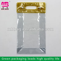 large water proof pvc plastic bags for hair extensions