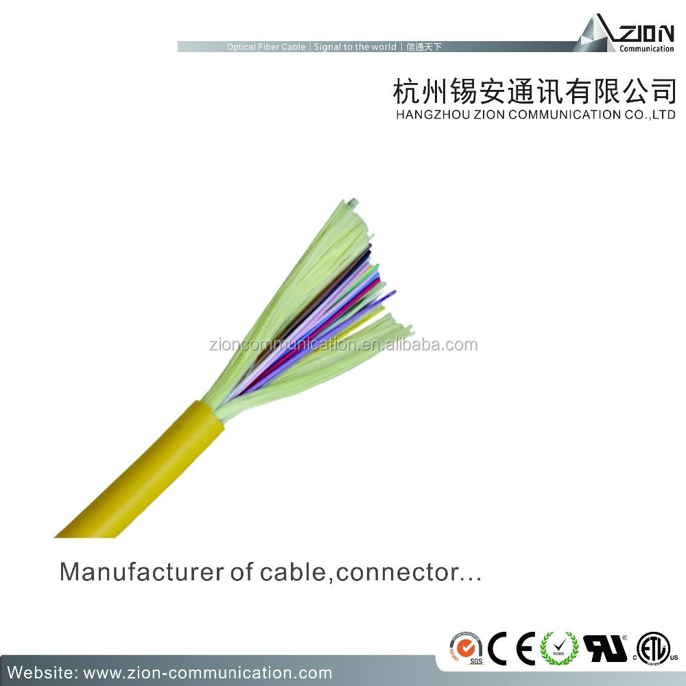 Indoor Soft Optical Fiber Cable ( GJFJV)