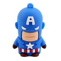 8G 16G 32G 64G Avenger USB flash drive 3D cartoon pen drive
