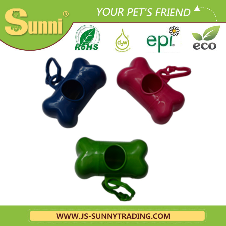 Different Shape trash garbage dog shaped poop bag dispenser