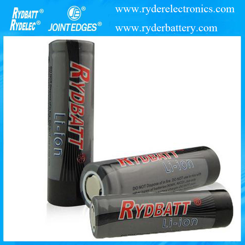 18650 3.7V 2200mAh Li-ion Rechargeable Battery Cell For Torch Flashlight