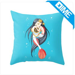 2016 Custom sublimation printing high quality fancy pillow cover