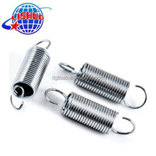 High quality tension spring with double hooks