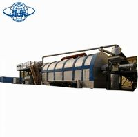Ce approve waste tyre recycling to diesel plant/waste oil regeneration pyrolysis machine