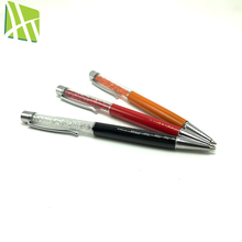 New Design Customized Promotion Gifts Color Promotional Crystal Metal Ball Point Pen
