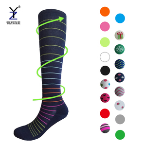 Sports compression stocking cotton for women