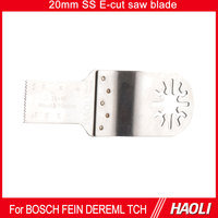 20mm Stainless steel wood cutting oscillating tool saw blade for multifunctional tool