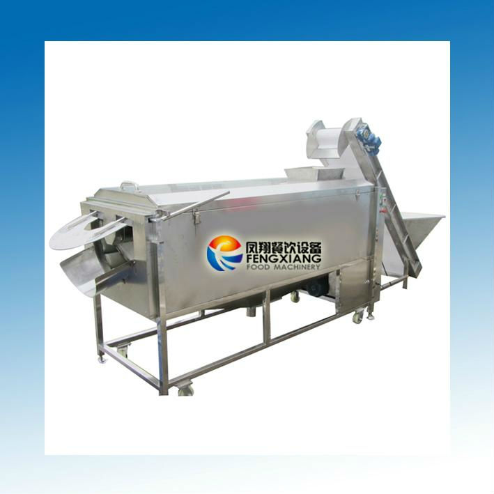 ~Manufactuer~ LXTP-3000 Large Type sugar beets washer & peeler machine (100% stainless steel) ( food-grade parts)