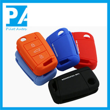 Facttory wholesale exclusive silicone car key cover for Toyota Smart Camry Highlander Crown Land Cruiser