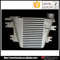 for nissan patrol Y61 ZD30 DI bar plate high performance intercooler