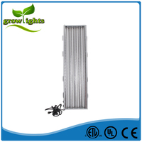 4ft 4 lamp T5 Fluorescent Grow Light Bloom 216W High Output 6400K 2700K