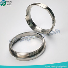 Custom CNC Machined Parts Machining service Stainless Steel Ring