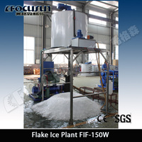 Flake Ice making Machine suitable for Fishing Vessels