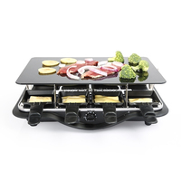 Electric hot stone /glass ceramic plate grill