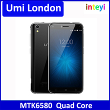 UMI London Quad Core MT6580 5.0 inch Android 6.0 Smartphone 3G Mobilephone 1GB RAM 8GB ROM 2050mAh Ultra Slim 720P 8MP Cellphone
