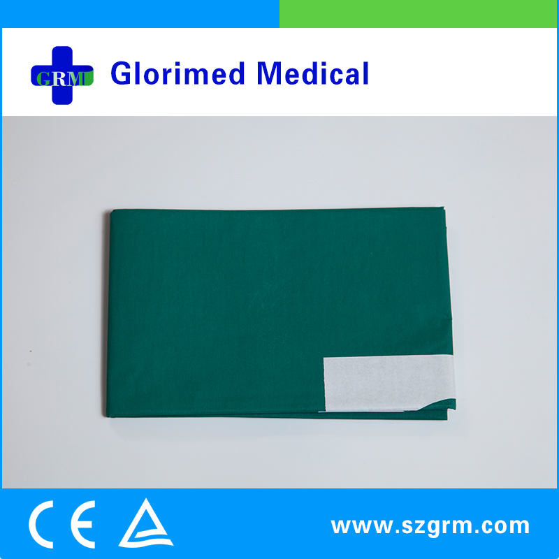 Waterproof Polyethylene Film Plain Surgical Drape For Dressing Kits