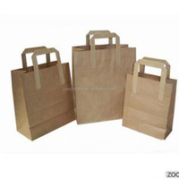 Manufacturer Price Eco-friendly Carrier Kraft Gift Packaging Custom Shopping Craft Paper Bag