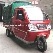 Steel cabin cargo tricycle with roof /Glass cabin and roof tricycle