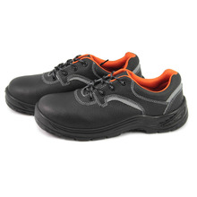 NMSHIELD leather steel toe work shoes