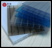 unbroken & transparent 13mm anti-scratchs polycarbonate sheet