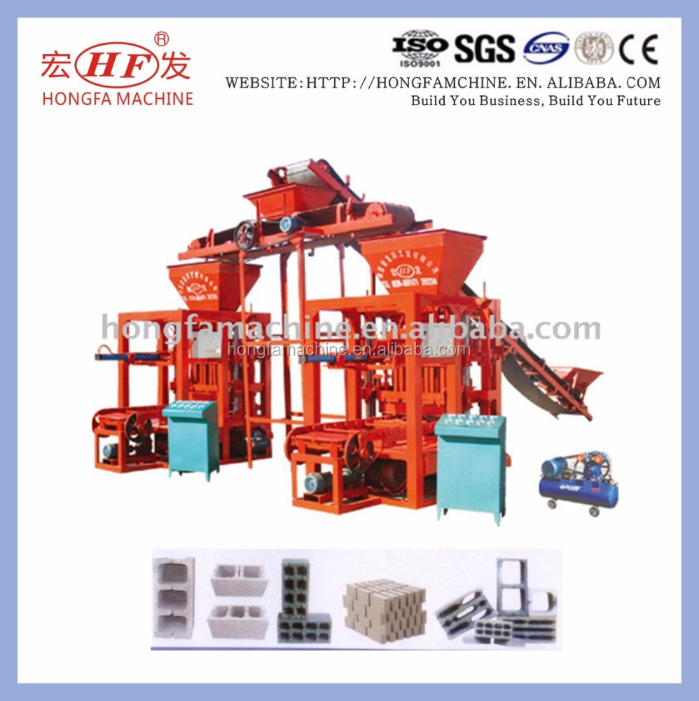 QTJ4-26 brick manufacturing machine