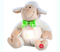 plush led light toy/animal plush night light toys/stuffed sheep animal toys