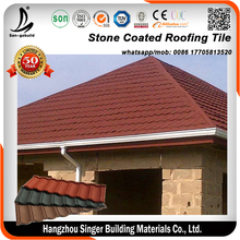 Philippines Pouplar Stone Chip Coated Metal Roof Tile/Roofing Shingle /Roof Tile Price For Sale
