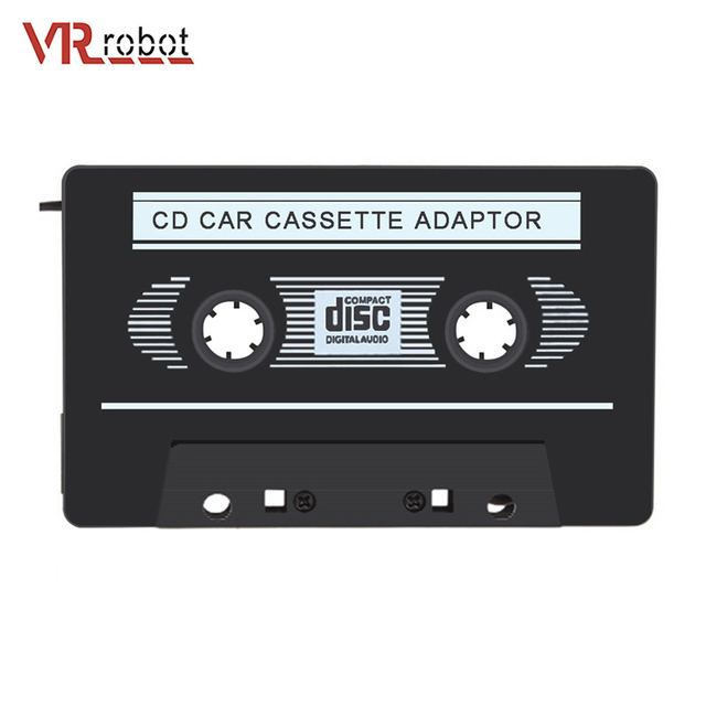 Car MP3 Player Audio Cassette Adapter Car Stereo Tape 3.5mm Jack for CD DVD iPad iPhone