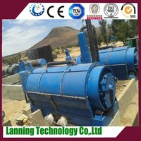Newest design advanced technology 10tons waste tire recycling machine for fuel oil