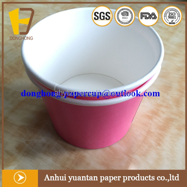 china manufacturer stocked icecream paper cups biodegradable